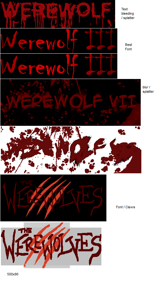 Werewolf Pictures
