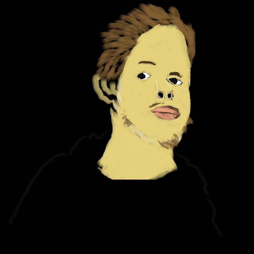 Cropped Self-Portrait
